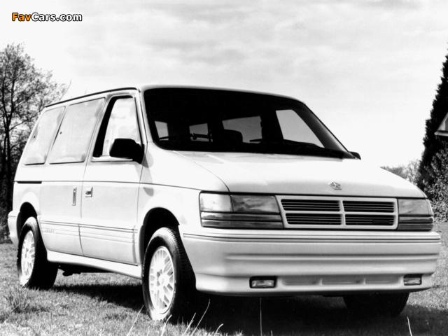 Pictures of Dodge Caravan 1991–95 (640 x 480)
