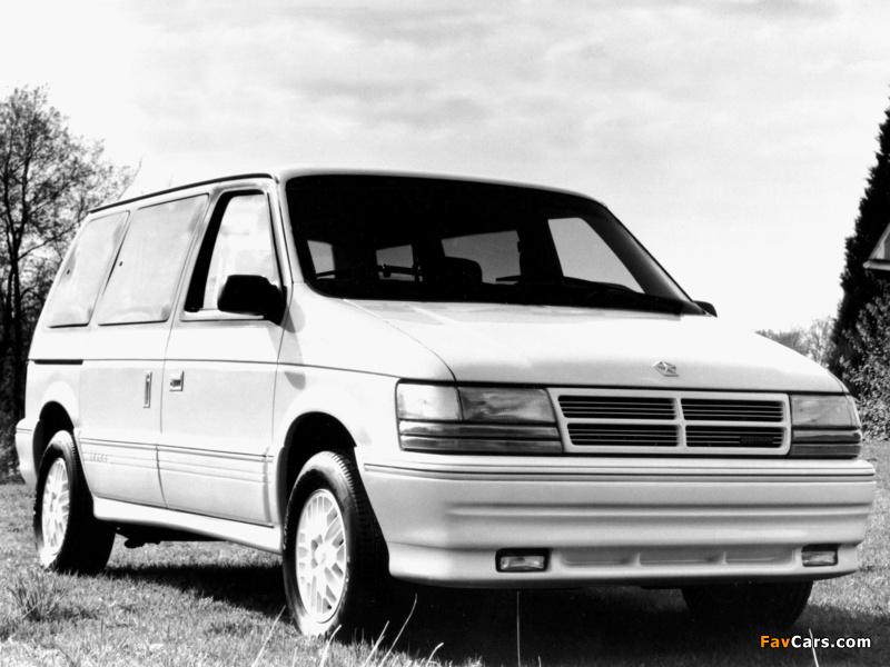 Pictures of Dodge Caravan 1991–95 (800 x 600)