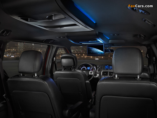 Dodge Grand Caravan R/T 2011 wallpapers (640 x 480)