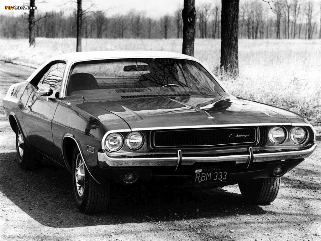 Dodge Challenger 1970 Images 1024 X 768