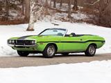 Dodge Challenger R/T Convertible (JS27) 1970 images