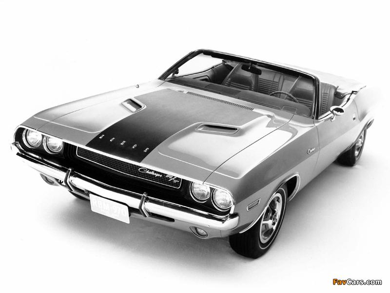 Dodge Challenger R/T Convertible (JS27) 1970 photos (800 x 600)