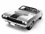 Dodge Challenger R/T Convertible (JS27) 1970 photos