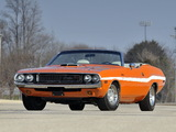 Dodge Challenger R/T 426 Hemi Convertible (JS27) 1970 photos