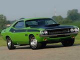 Dodge Challenger T/A 340 Six Pack 1970 pictures
