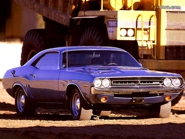 Dodge Challenger R/T 1971 pictures (640 x 480)