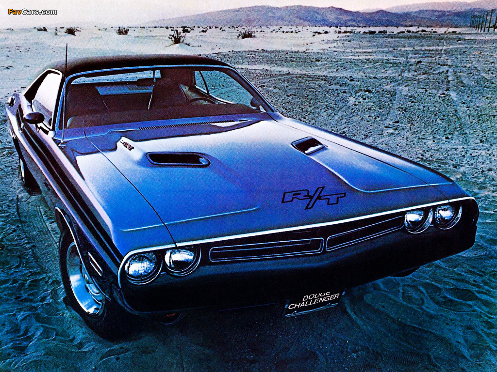 Dodge Challenger R/T 1971 pictures (1024 x 768)
