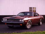 Dodge Challenger R/T 440 Six Pack (JS23) 1971 wallpapers