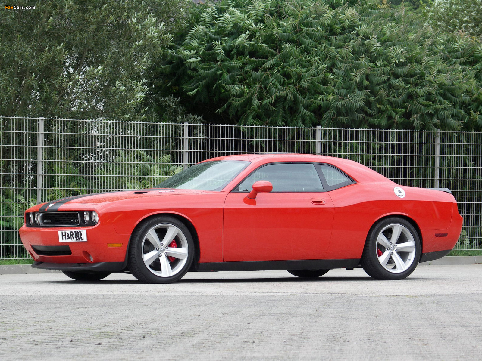 H&R Dodge Challenger SRT8 (LC) 2008–10 photos (1600 x 1200)