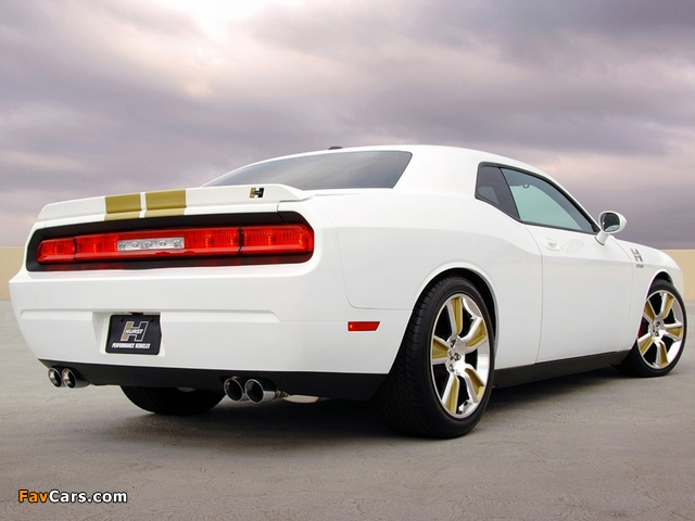 Hurst Dodge Challenger (LC) 2008–10 photos (640 x 480)