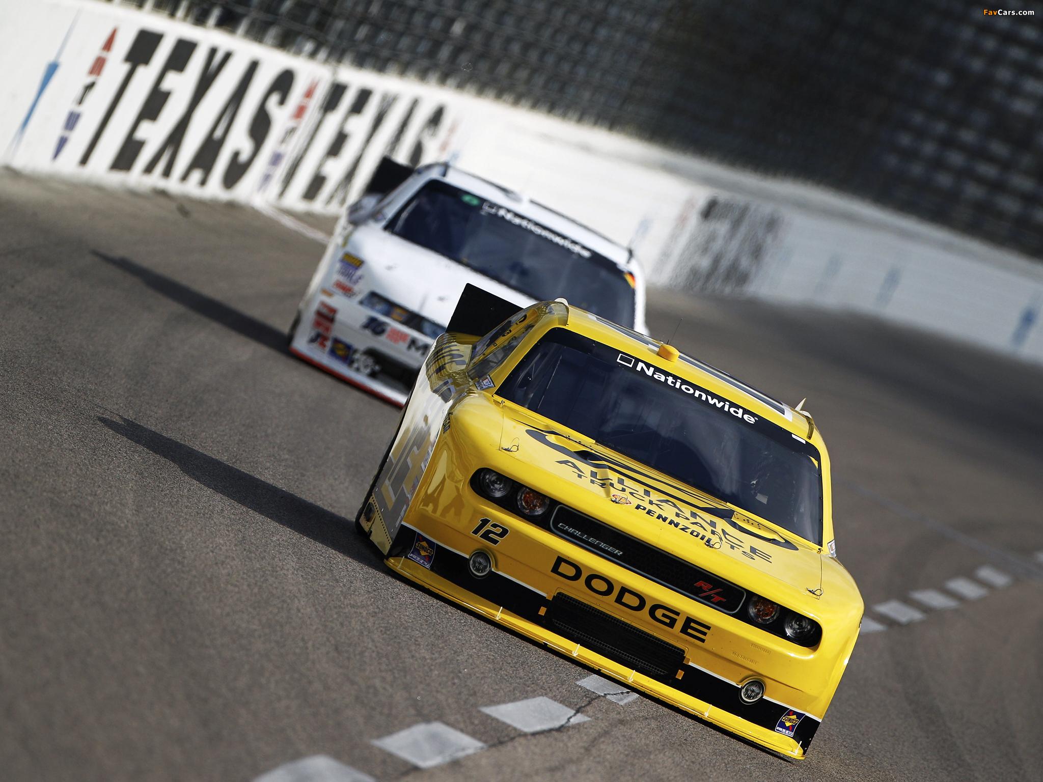 Dodge Challenger R/T NASCAR Nationwide Series (LC) 2010–12 photos (2048 x 1536)