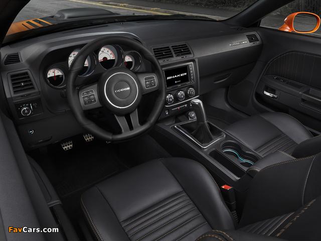 Dodge Challenger R/T Shaker 2014 photos (640 x 480)