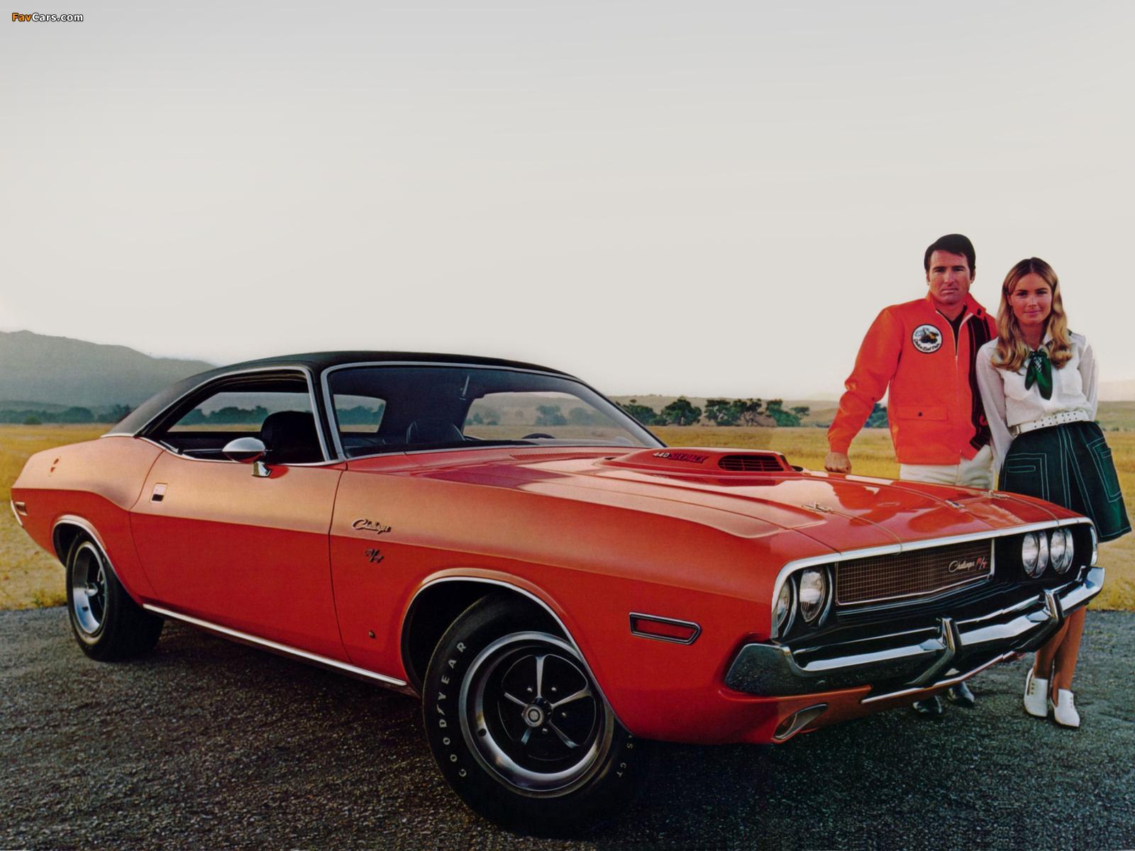 Images of Dodge Challenger R/T 1970 (1600 x 1200)