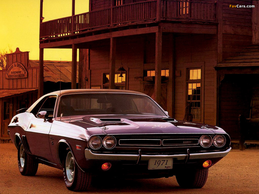 Images of Dodge Challenger R/T 1971 (1024 x 768)