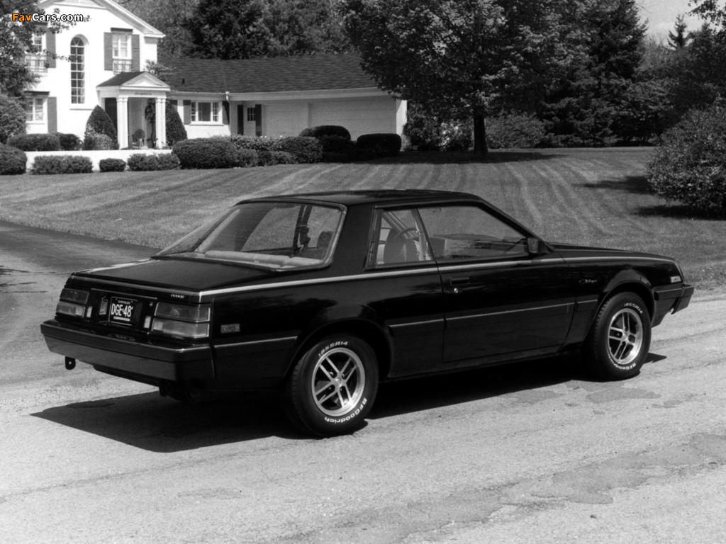 Images of Dodge Challenger 1982 (1024 x 768)