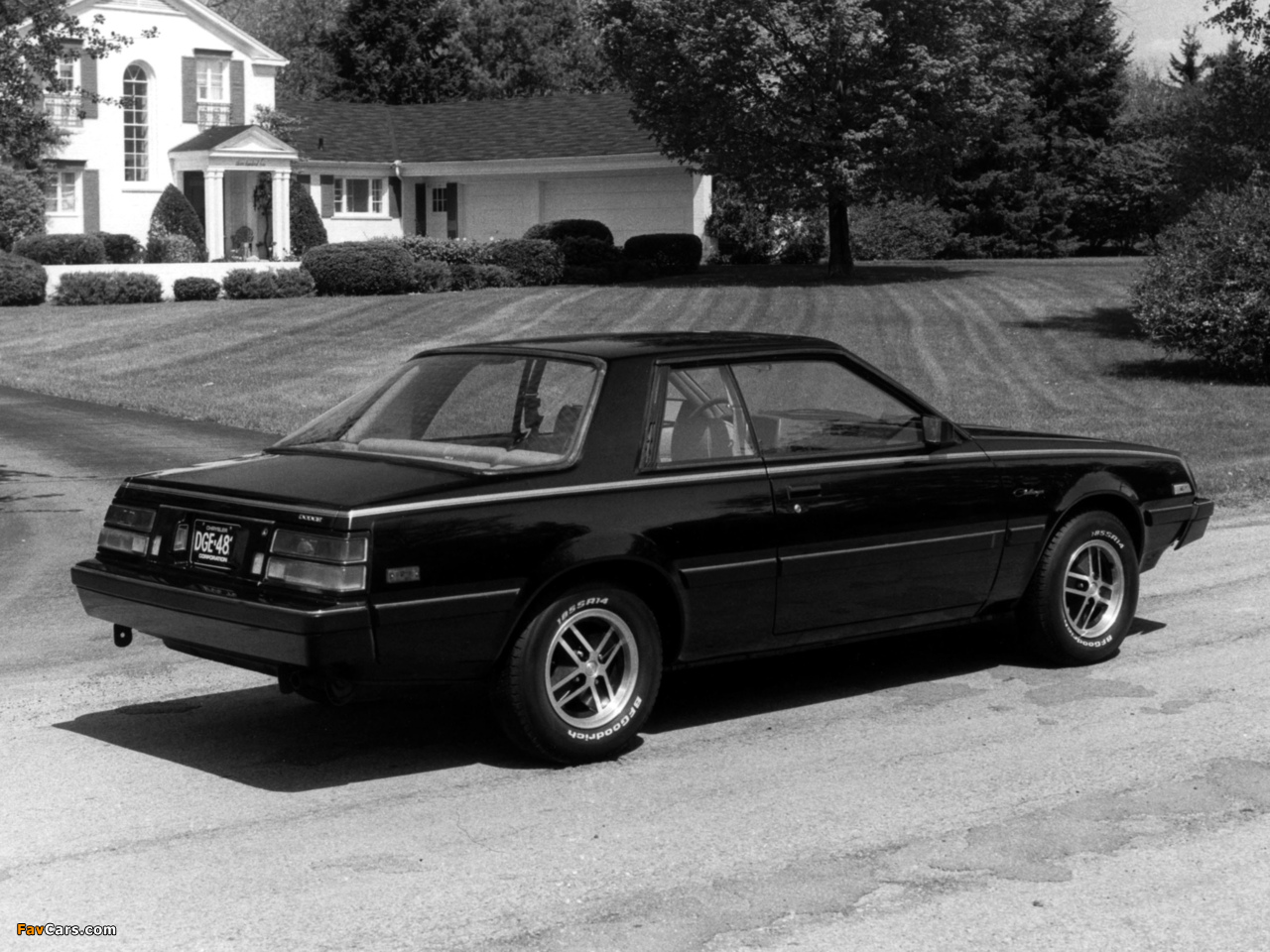 Images of Dodge Challenger 1982 (1280 x 960)