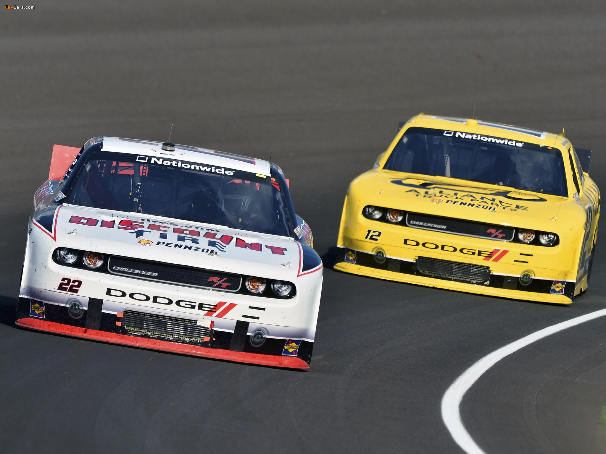 Images of Dodge Challenger R/T NASCAR Nationwide Series (LC) 2010–12 (2048 x 1536)