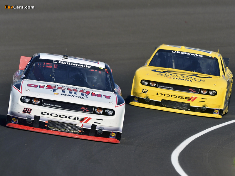 Images of Dodge Challenger R/T NASCAR Nationwide Series (LC) 2010–12 (800 x 600)
