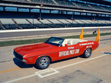 Photos of Dodge Challenger Convertible Indy 500 Pace Car 1971
