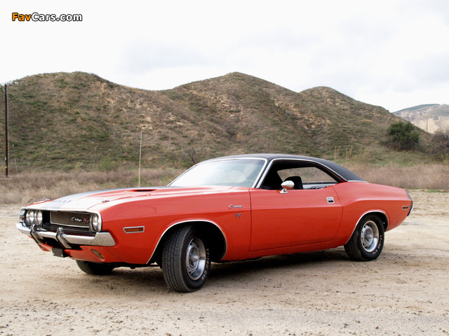Pictures of Dodge Challenger R/T (JS23) 1970 (640 x 480)
