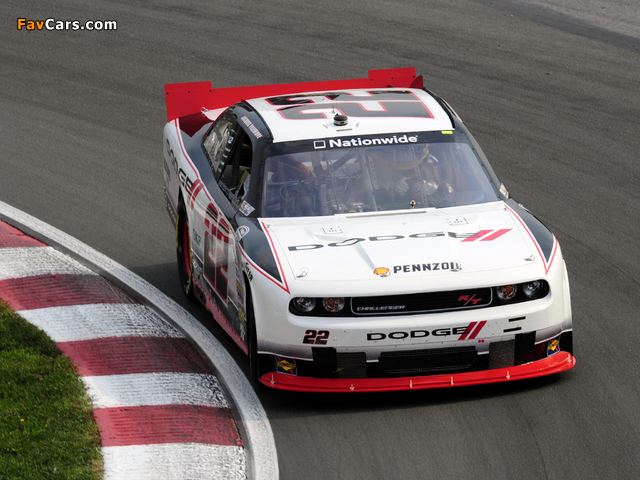 Pictures of Dodge Challenger R/T NASCAR Nationwide Series (LC) 2010–12 (640 x 480)
