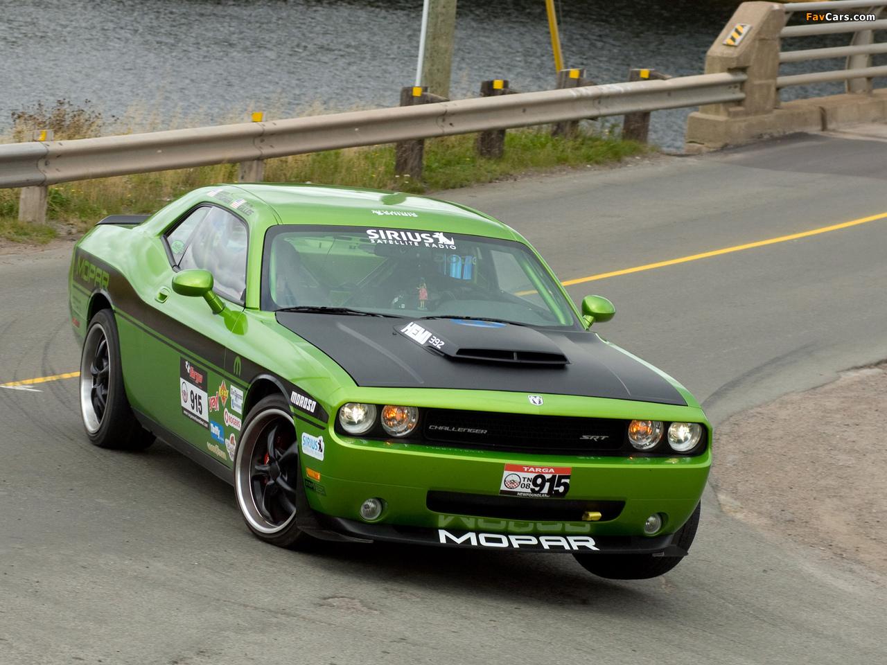 Dodge Challenger Targa Mopar Concept 2008 wallpapers (1280 x 960)