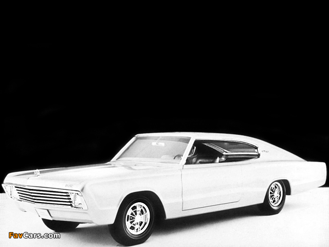 Dodge Charger II Concept Car 1965 images (640 x 480)