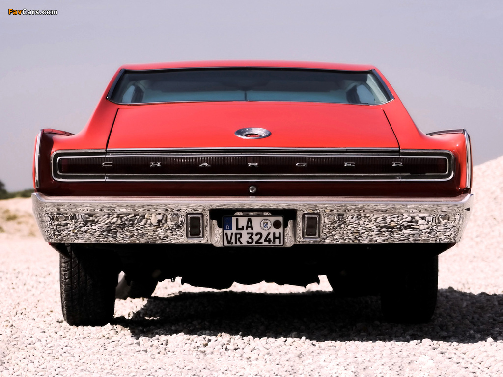 Dodge Charger 1967 wallpapers (1024 x 768)