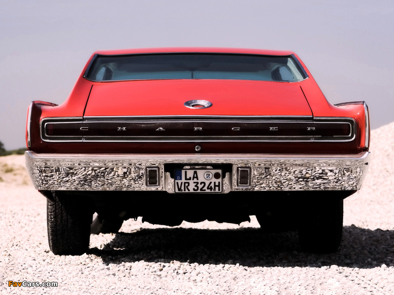 Dodge Charger 1967 wallpapers (800 x 600)