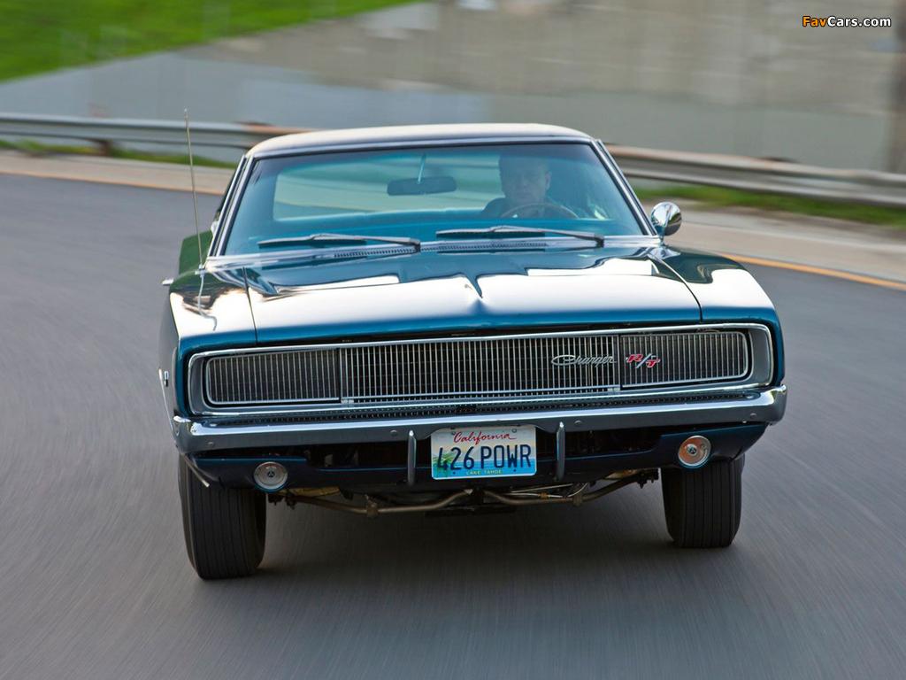 Dodge Charger R/T 426 Hemi 1968 photos (1024 x 768)