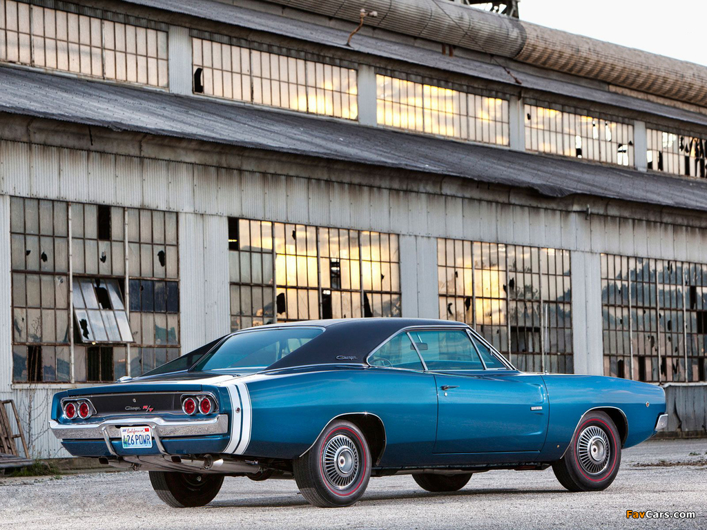 Dodge Charger R/T 426 Hemi 1968 pictures (1024 x 768)