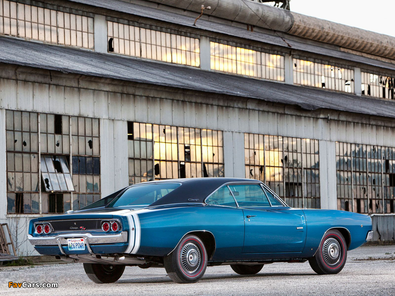 Dodge Charger R/T 426 Hemi 1968 pictures (800 x 600)