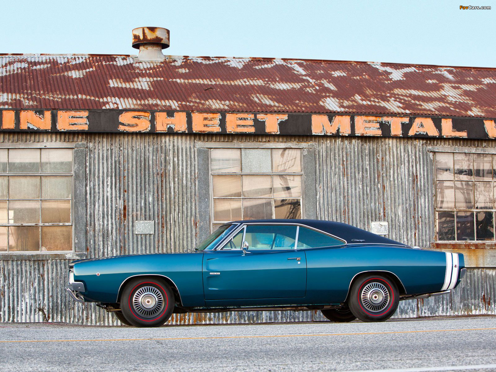 Dodge Charger R/T 426 Hemi 1968 wallpapers (1600 x 1200)