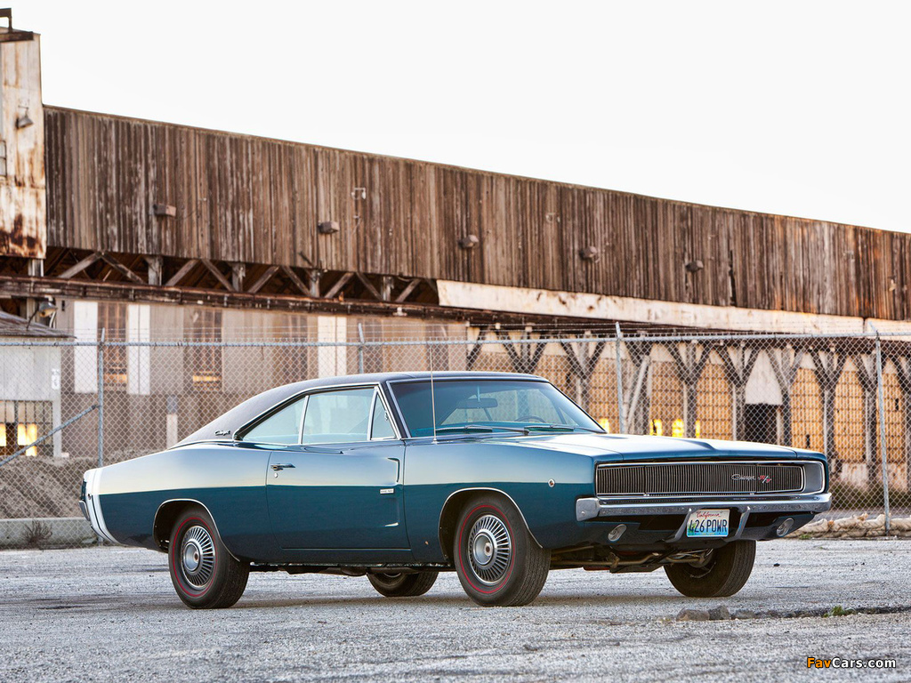 Dodge Charger R/T 426 Hemi 1968 wallpapers (1024 x 768)