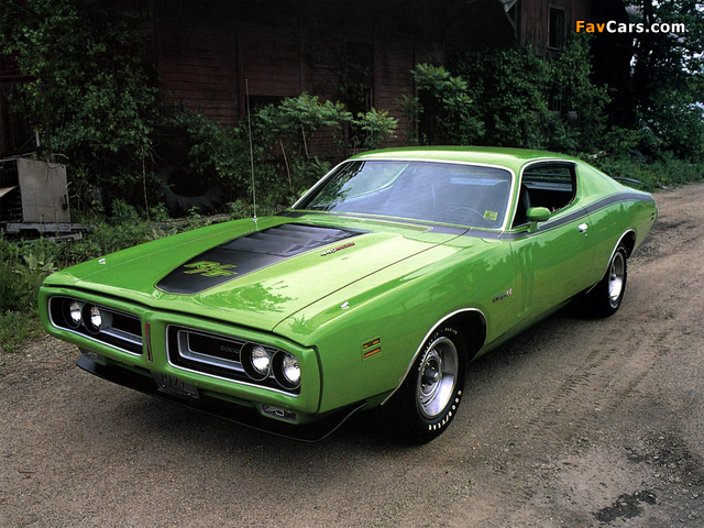 Dodge Charger R/T 440 Magnum 1971 pictures (640 x 480)