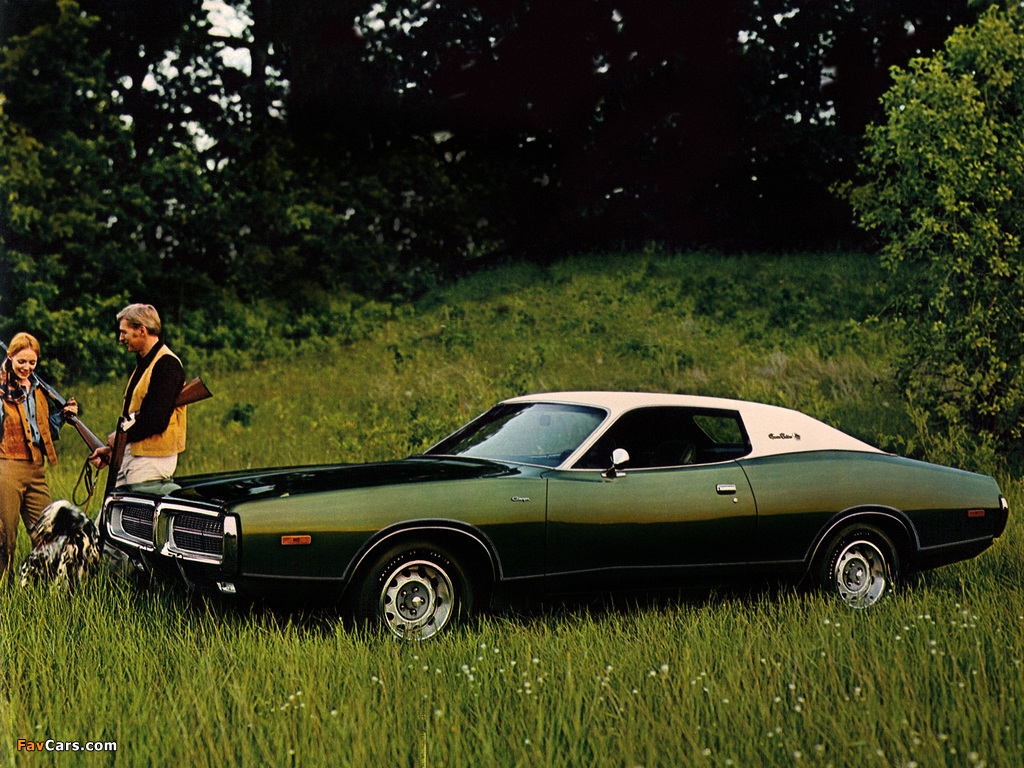 Dodge Charger 1972 images (1024 x 768)