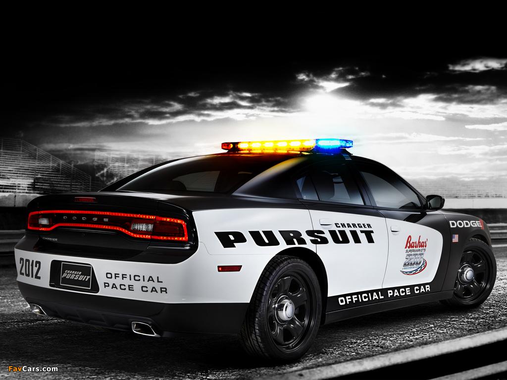 Dodge Charger Pursuit Pace Car 2012 pictures (1024 x 768)