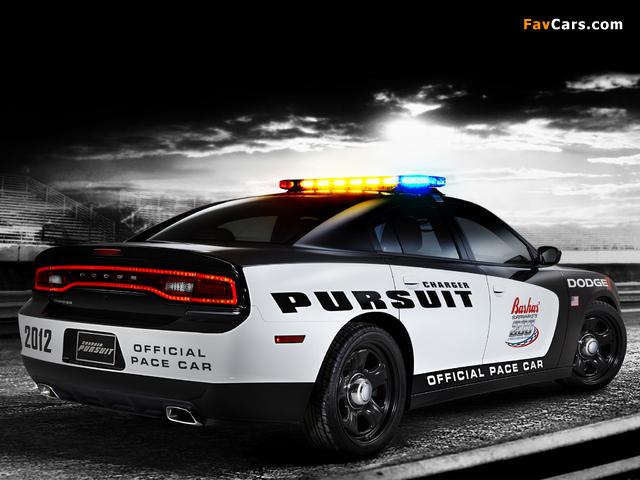 Dodge Charger Pursuit Pace Car 2012 pictures (640 x 480)