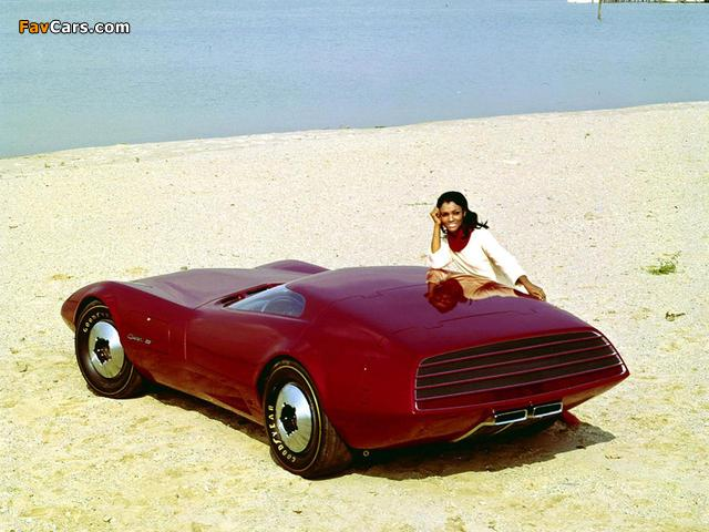 Images of Dodge Charger III Concept Car 1968 (640 x 480)