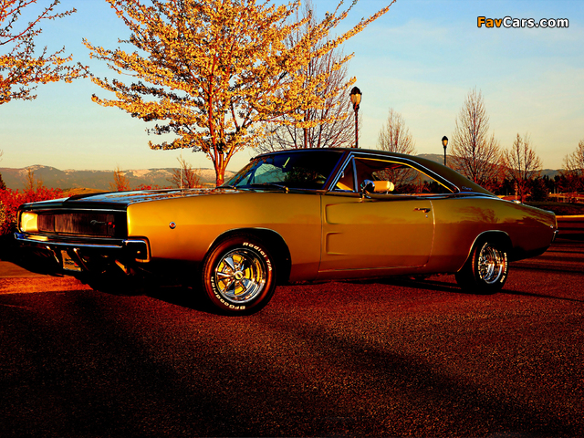 Images of Dodge Charger R/T 1968 (640 x 480)
