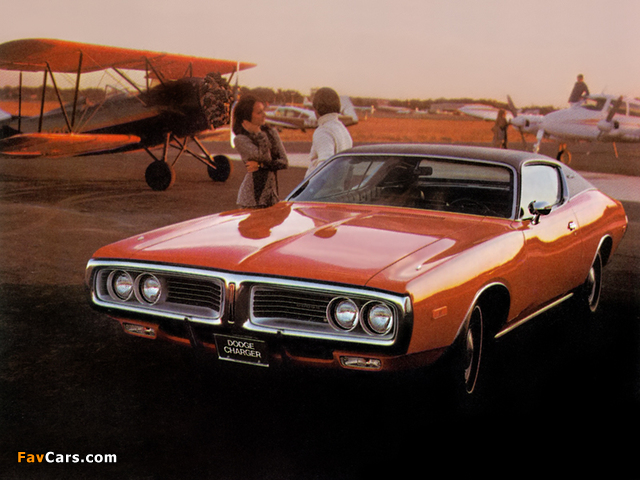 Images of Dodge Charger 1972 (640 x 480)