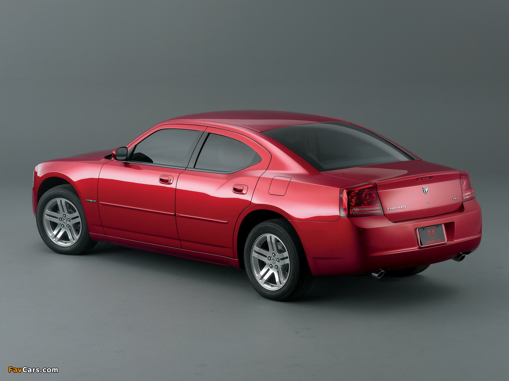 Images of Dodge Charger R/T 2005–10 (1024 x 768)