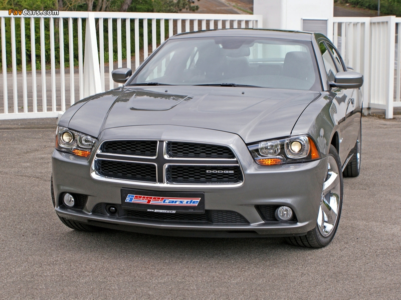 Images of Geiger Dodge Charger R/T 2011 (800 x 600)