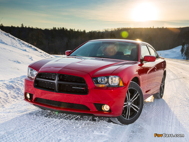 Images of Dodge Charger AWD Sport 2013 (640 x 480)