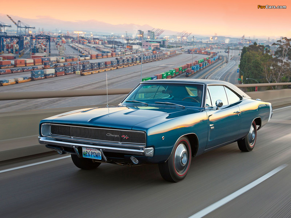 Photos of Dodge Charger R/T 426 Hemi 1968 (1024 x 768)