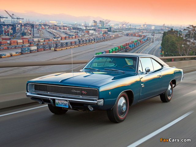 Photos of Dodge Charger R/T 426 Hemi 1968 (640 x 480)