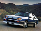 Photos of Dodge Shelby Charger 1983–87