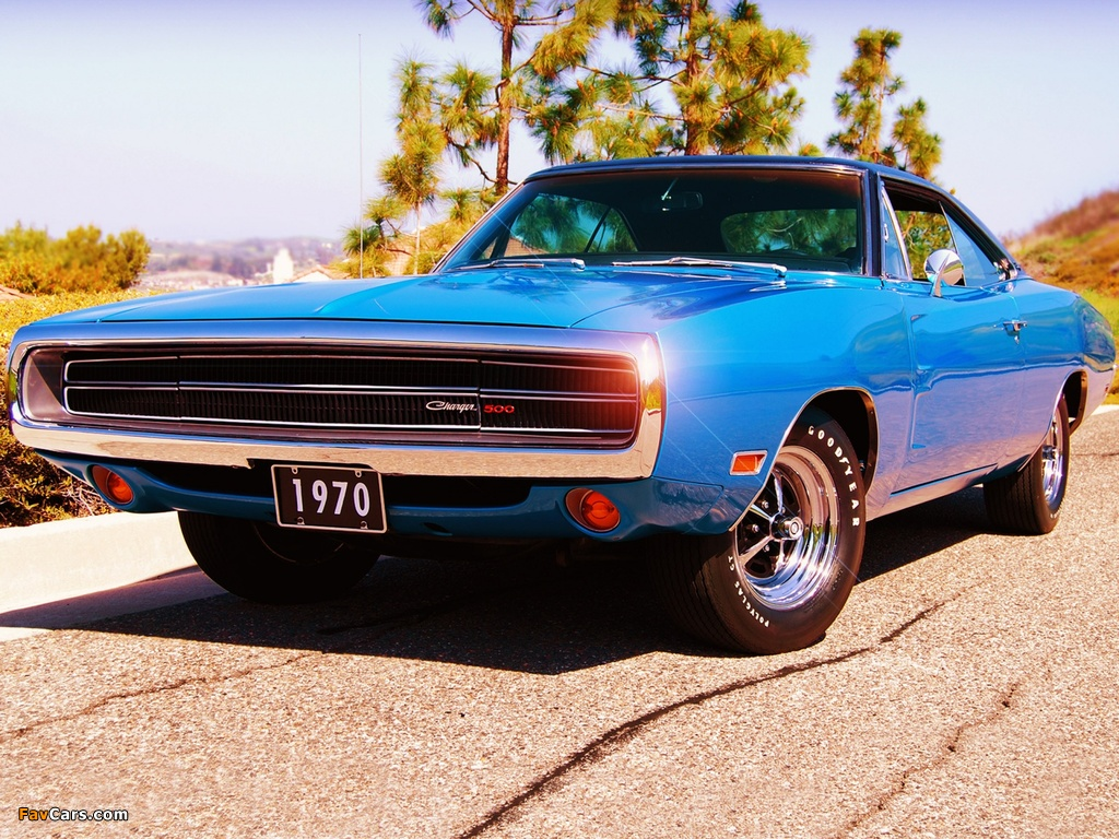 Pictures of Dodge Charger 500 (XP29) 1970 (1024 x 768)