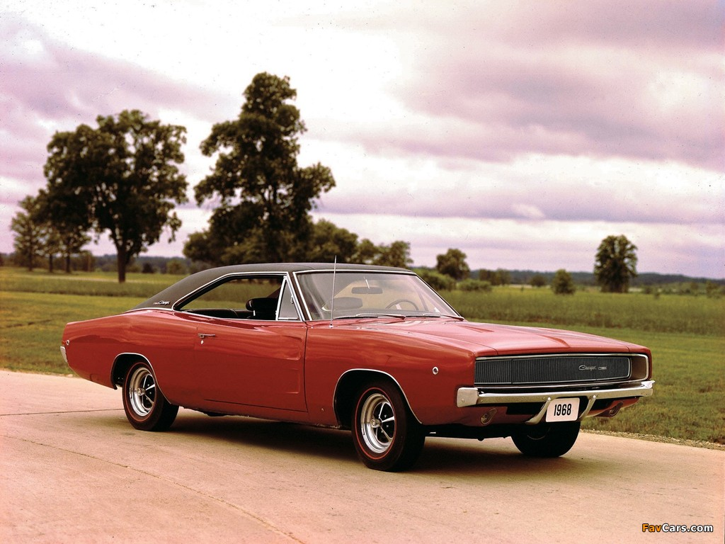 Dodge Charger 1968 wallpapers (1024 x 768)