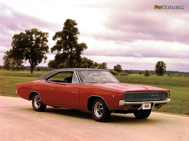 Dodge Charger 1968 wallpapers (640 x 480)